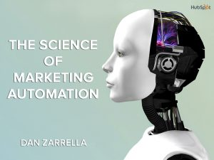 Marketing Automation robot woman