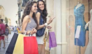 Two-mobile-ladies-gone-shopping