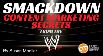 Smackdown Content Marketing Secrets From the WWE