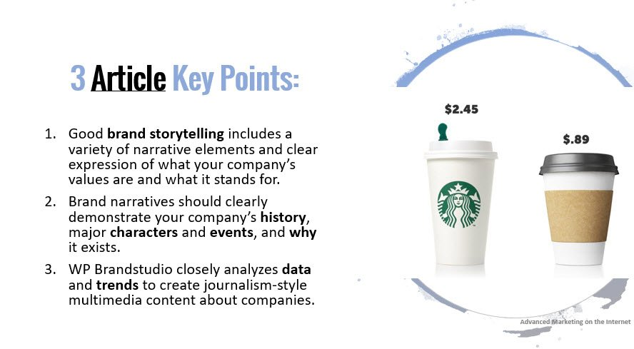 """""""How to Do Successful Brand Storytelling in 3 Ways?"""""""