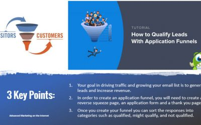 """""""How Can You Easily Qualify Leads with Application Funnels?"""""""